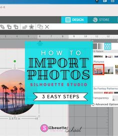 How to Import Photos into Silhouette Studio in 3 Easy Steps   Silhouette School Blog