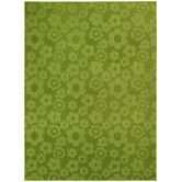 Found it at Wayfair Supply - Magic Odor Eliminating Lime Flowers Area Rug