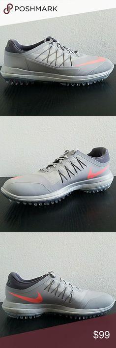 the best attitude 54871 e759f Description  Nike Lunar Control Vapor Men s Golf Shoes Nike 849971 003  Color  Wolf Grey Lava Glow Size NEW WITHOUT BOX.