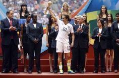 Mundial de Canadá 2015: Carli Lloyd, Balón de Oro