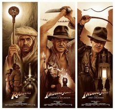 Indiana Jones < I will never get tired of watching these movies.