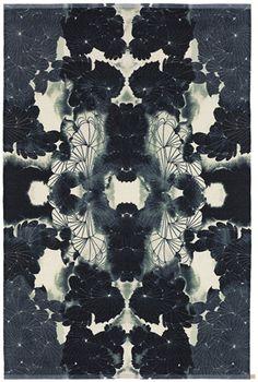 inspired by #black and #white...Dag & Natt rug