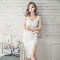 #Price: $16.66             Elegant Fashion Asymmetrical Hem Sexy Dresses