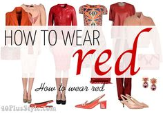 How to wear red | 40plusstyle.com
