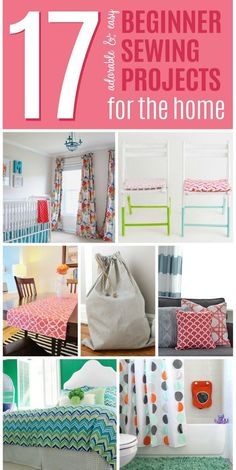 Sewing Projects For Kids These easy beginner sewing projects are also super adorable and useful projects you can use in your home. With these great sewing projects, decorating your home will be easier than ever. Check out our fantastic list of ideas now. Sewing Hacks, Sewing Tutorials, Sewing Crafts, Sewing Tips, Sewing Basics, Basic Sewing, Diy Crafts, Dress Tutorials, Creative Crafts