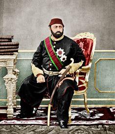 Sultan Abdülaziz Han Renkli Fotoğrafı, Sultan Abdülaziz Han, Abdülaziz Han Imperial State Crown, Sultan, Ottoman Empire, Pictures, Style, History, Photos, Swag, Stylus