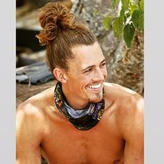 man bun appreciation survivor season 30- joe