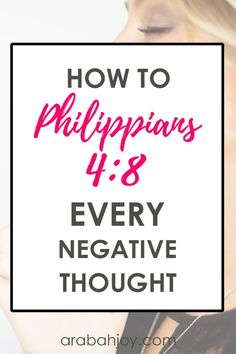 Bible Verses About Faith:Do you struggle with constant negative thoughts and wonder how to get rid of negative thinking? Use this resource to overcome every negative thought. Bible Prayers, Bible Scriptures, Bible Quotes, Scripture Verses, Christ Quotes, Biblical Quotes, Religious Quotes, Faith Prayer, Faith In God