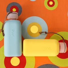 SQUIREME GLASS BOTTLE Y1 YELLOW – Kladi Glass Bottles, Water Bottle, Drinks, Yellow, Drinking, Beverages, Water Bottles, Drink, Beverage