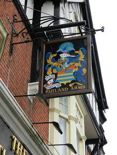 'Rutland Arms' Pub Sign - Portsmouth