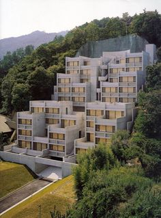 Tadao Ando Rokko Housing #ando #architecture #tadao Pinned by www.modlar.com