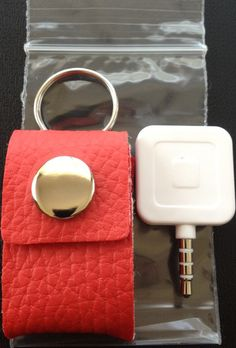 The Square Pouch!  Problem solved for wayward Square readers!  I ordered the red one. <3