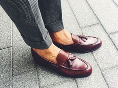 Handmade Men's burgundy leather loafer, burgundy tassel loafers, men's loafer sold by LeathersPlanet. Shop more products from LeathersPlanet on Storenvy, the home of independent small businesses all over the world. Best Shoes For Men, Men S Shoes, Formal Shoes For Men, Loafer Shoes, Loafers Men, Leather Loafers For Men, Penny Loafers, Men Dress, Dress Shoes