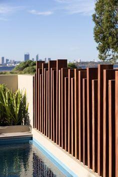 Afbeeldingsresultaat voor modern fence
