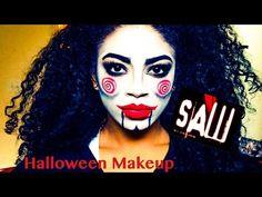 saw billy the puppet halloween makeup tutorial jasmeannnn youtube - Puppet Halloween