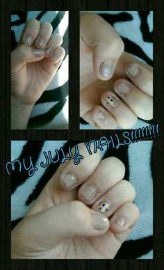 In South Dakota  and decided to do my nails!!!!!!!!
