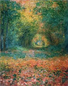 The Undergrowth in the Forest of Saint-Germain, Claude Monet, 1882
