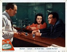 Mary Astor and Van Heflin in Act of Violence (1948)