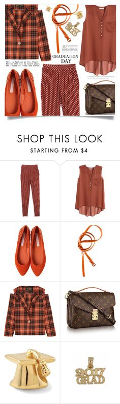 """""""Congrats, Grad: Graduation Day Style"""" by dolly-valkyrie ❤ liked on Polyvore featuring H&M, Charlotte Ronson, Vivienne Westwood Anglomania and Graduation"""