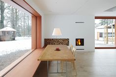Stunningly Simple Wood Details in Titus Bernhard's House 11×11