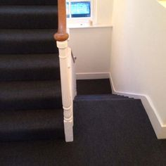 Client: Private Residence In South London Brief: To supply & install carpet to stairs