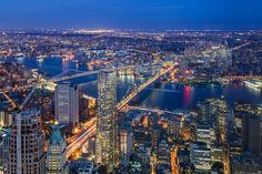 Twin Bridges   One World Observatory - New York, NY