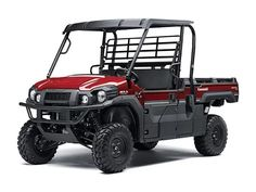"""New 2016 Kawasaki MULE PRO-DX EPS ATVs For Sale in California. Kawasaki Strong The newest edition to the MULEâ""""¢ family, the MULE PRO-DXâ""""¢ side by side, is our powerful, most capable diesel MULE side x side ever. Built on the same rugged platform as the MULE PRO-FXâ""""¢, this innovative side x side comes equipped with the largest cargo bed in class all while offering comfortable full-size three-passenger seating. To top it off, the MULE PRO-DX is backed confidently by the Kawasaki STRONG…"""