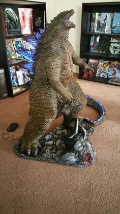 Awesome Godzilla 2014 Sculpture By Hector A. Lloyd Ninjago, King Kong Vs Godzilla, Godzilla Tattoo, Godzilla Toys, Marvel, Jurassic Park, Big Eyes, Zbrush, Orlando