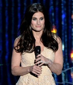 """Custom Idina Menzel 18"""" Wave Indian Remy Human Hair Lace Front Wig - UniWigs ® Official Site #humanhairwigs #laceclosure #flipinhairextention #africanamericanwigs #ombrehairextensions #syntheticwigs #monofilamentwigs #silktopfulllacewigs #kanekalonwigs #brazilianlaceclosure #fishlinehairextensions #heatresistantwigs #caplesswigs #fashion #hairstylesforgirl #haircut #customwigs #fashionwigs #hairstyles #salons #pinup #uniwigs #uniwigssalon #beautiful #newarrivals"""