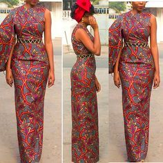 Cotton African print long pencil dress Belt is not included Please feel free to inbox me for more fabric options or check my fabric store Long African Dresses, African Wedding Dress, African Print Dresses, African Print Fashion, African Fashion Dresses, Ghanaian Fashion, African Prints, Ankara Gown Styles, Ankara Dress