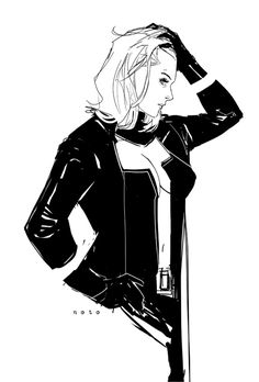 Emma by Phil Noto https://www.facebook.com/CharacterDesignReferences