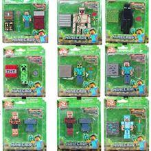 9 / Lot Minecraft Micro World Hanger Creeper Iron Golem Action Figures MC Toys Models,Backpack Pendants Keychains Models(China (Mainland)) Minecraft Gifts, Minecraft Toys, Cool Minecraft, Minecraft Skins, Minecraft Buildings, Minecraft Bedroom Decor, Minecraft Furniture, Minecraft Action Figures, Mc Toys
