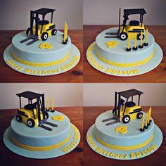 Forklift Truck Cake
