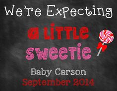 Printable Pregnancy Announcement // Pregnancy Reveal