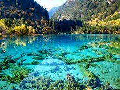 Jiuzhaigou Nature Reserve, Sichuan Province, China