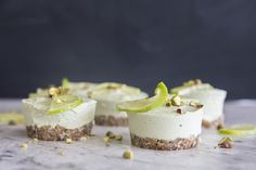 Creamy, zesty, simple to put together and delicious. Ticking all of your boxes? These mini raw coconut and lime 'cheesecakes' will soon become your hero recipe!
