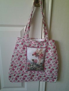 Lined tote bag made by Dandycrafts