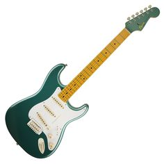 Squier Classic Vibe Stratocaster 50s - Sherwood Green Metallic with Matching Painted Headstock