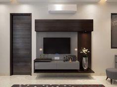 Beautiful desgin by me - Salvabrani Bedroom Tv Unit Design, Tv Unit Interior Design, Tv Unit Furniture Design, Living Room Tv Unit Designs, Tv Wall Design, Wall Unit Decor, Lcd Panel Design, Modern Tv Wall Units, Modern Tv Cabinet