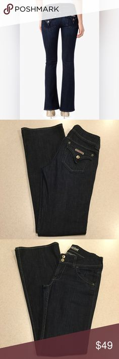 Hudson Jeans 28X34 Signature Bootcut Sun Valley! Hudson women's jeans Signature Bootcut in Sun Valley wash Size 28 34 inch long unaltered inseam Stretchy super soft denim Amazing fit! Famous Hudson pockets Perfect preowned condition, no flaws Retailed for $185.00  All of my items come from a smoke free, pet free home and are authenticity guaranteed! Please ask any questions and reasonable offers are always welcome. No returns for fit issues. 10 11/13 Hudson Jeans Jeans Boot Cut