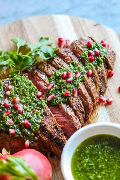 This is one delicious meal and very caloric I must admit. After that you will be full of energy. Steak in combination with mushrooms and goats cheese butter on a piece of bread will please all your senses! Food is… Continue Reading →