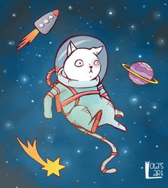 SpaceCat by 1o113r