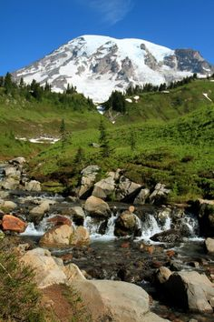 Mount Rainier by hylobates on 500px.