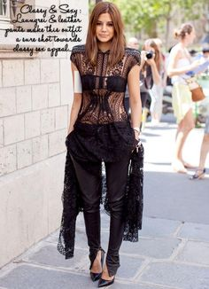 1a3257977e22e How to wear- Sheer Fashion Chris Pitanguy