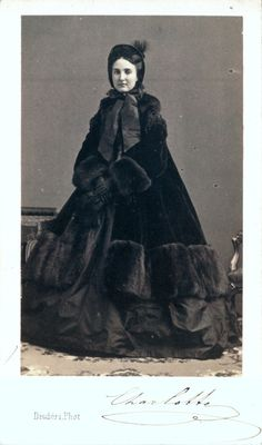 Portrait of Empress Carlota of Mexico, 1860s. Charlotte of Belgium (Princess Marie Charlotte Amélie Augustine Victoire Clémentine Léopoldine of Belgium) (7 June 1840 – 19 January 1927) is remembered today as Carlota of Mexico as empress consort of Emperor Maximilian I of Mexico, ex-Archduke of Austria.
