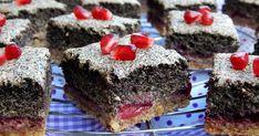 Paleo mákhabos pite meggyel és csokoládés szederlekvárral 1. ... nem paleos apukám, miután megkóstolta, vigyorogva azt mondta, ... Healthy Cake, Sweets, Poppy, Food, Healthy Meatloaf, Gummi Candy, Candy, Essen, Goodies