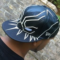 Black Panther Armor New Era 5950 Hat. Superhero Hats ... a7b5f38d0a83