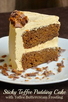This Sticky Toffee Pudding Cake uses a buttery toffee frosting for one of the richest, most indulgent cakes you will ever sample. A terrific celebration cake.
