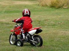 Honda CRF50F Training Wheels