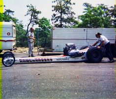 Vintage Drag Racing - Dragster - The RAMCHARGERS